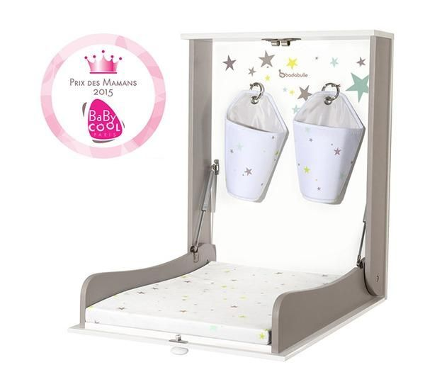 Table langer murale easy table langer murale table - Table a langer murale autour de bebe ...