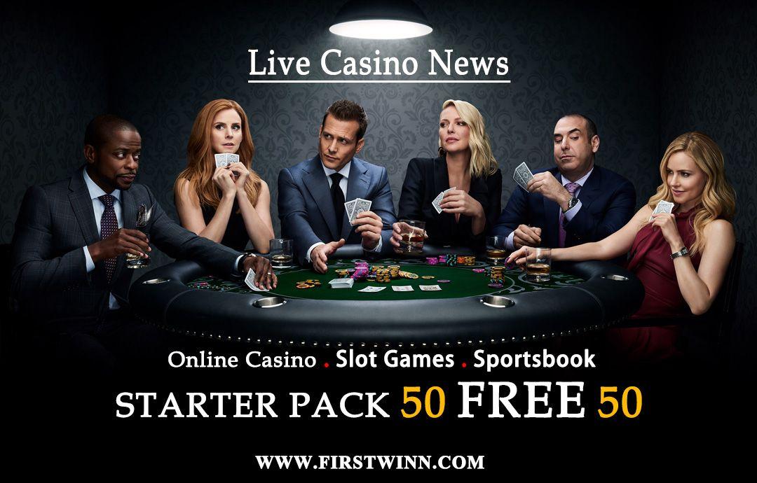 Firstwin Live Casino News Starter Pack 50 Free 50 Register