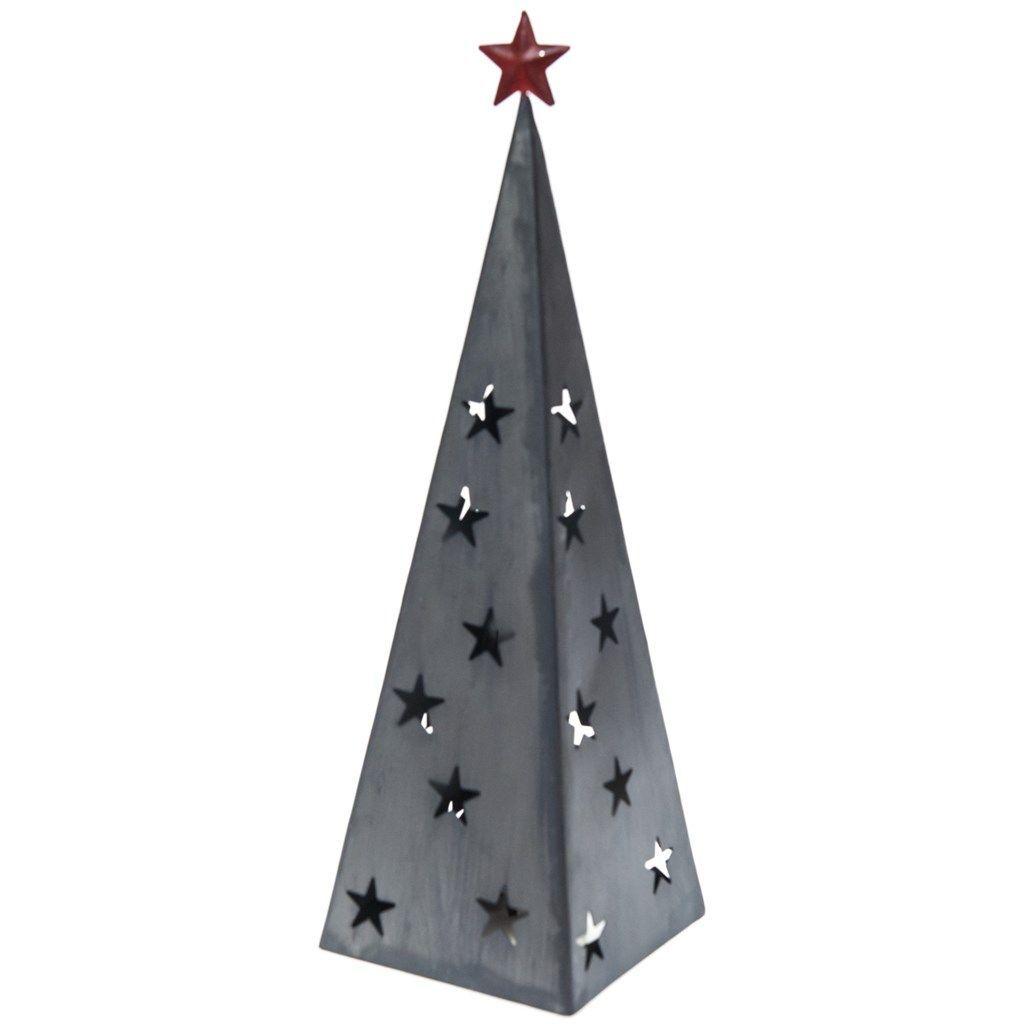 LED Light-Up Metal Tree   Christmas   Traditional Collection ...