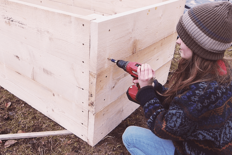 Hochbeet Aus Holz Selber Bauen Einfache Bauanleitung Wurzelwerk Hochbeet Holz Hochbeet Hochbeet Bauanleitung