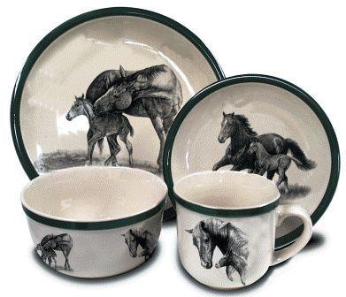 horse dinnerware | Horses Dinnerware - $199.50 -  sc 1 st  Pinterest & horse dinnerware | Horses Dinnerware - $199.50 - | Ideas for the ...