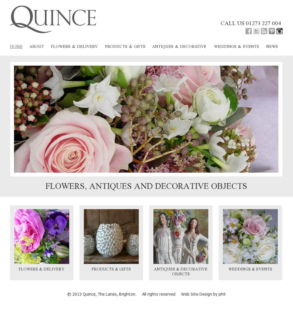 Another great florist from #Brighton - Quince Brighton will meet all your flower needs!