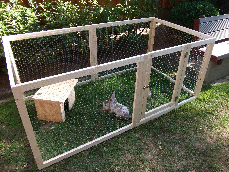 Kaninchenstall Bauen Lassen Einfach Erweiterbar Gehege