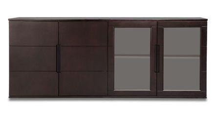 Hayes Filing Cabinet - Dark   Zuri Furniture