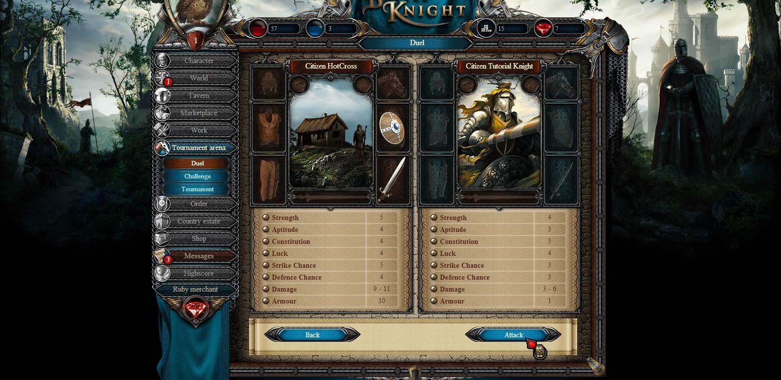 Battleknight Spiel