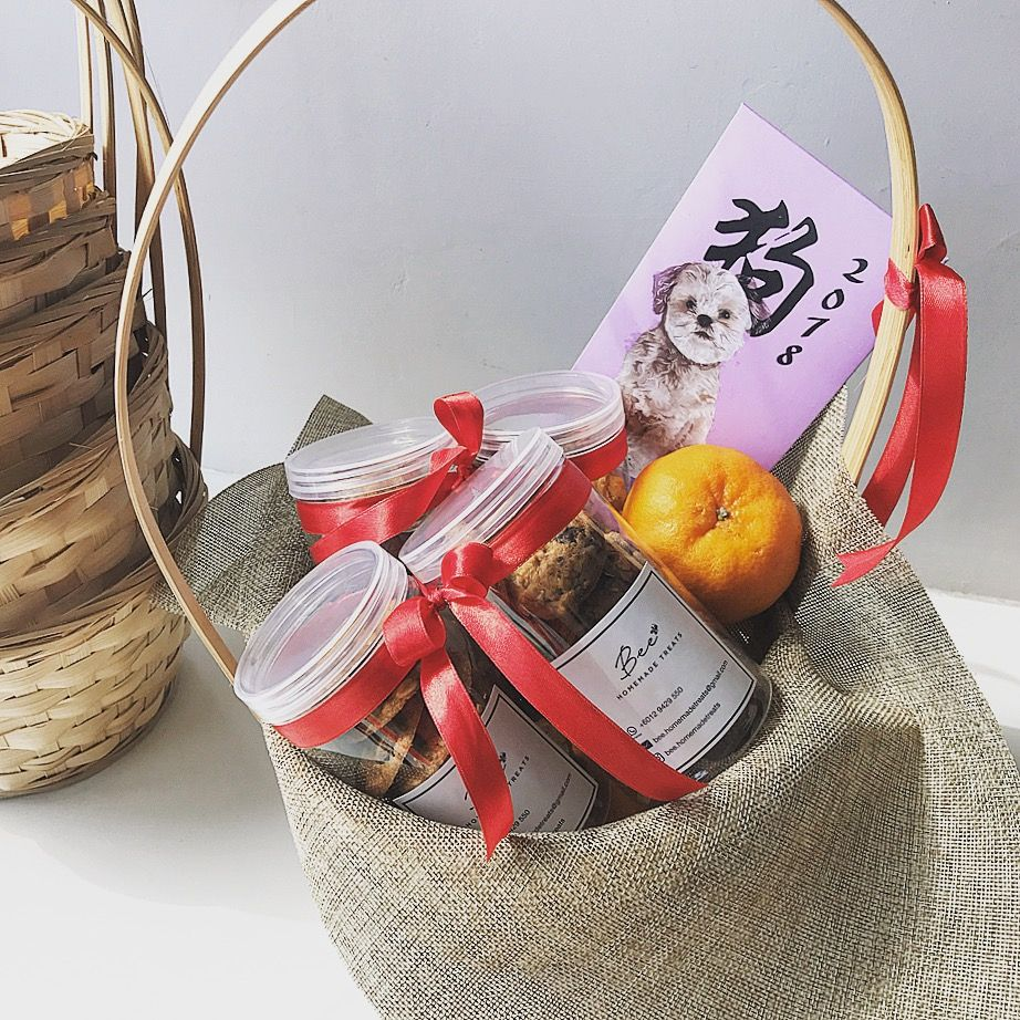 Lovely gift for Chinese New Year visiting㊗️ giftbasket
