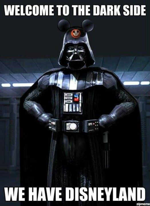 Come To The Darkside Because Disney Is The Only Reason You Need