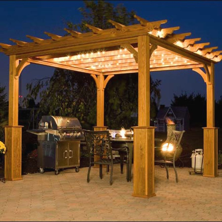 Easy Outdoor Lighting ideas you can build for your