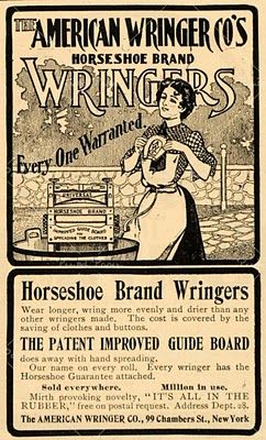 Love This Old Label That Went On The Wringer Washers Basement LaundryVintage