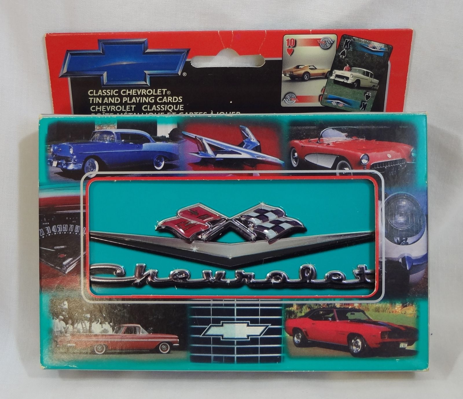 Classic Chevrolet Playing Cards Limited Edition Numbered Collector ...