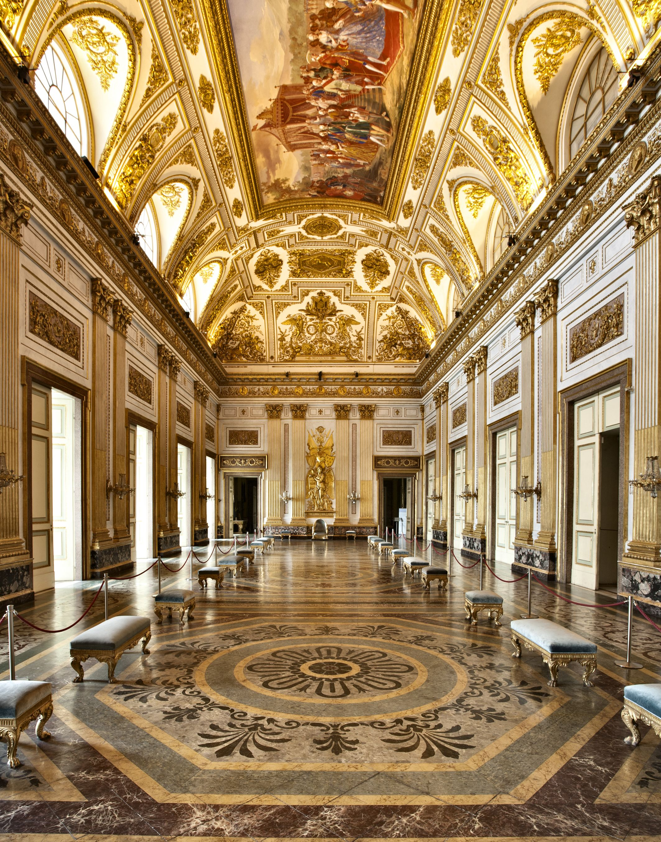 Royal palace caserta park waterfall of diana and actaeon wedding ideas pinterest palace - Interior designer caserta ...