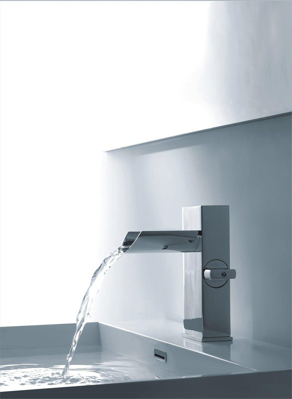 Melila I Chrome Finish Modern Bathroom Faucet | Bathroom Remodel ...