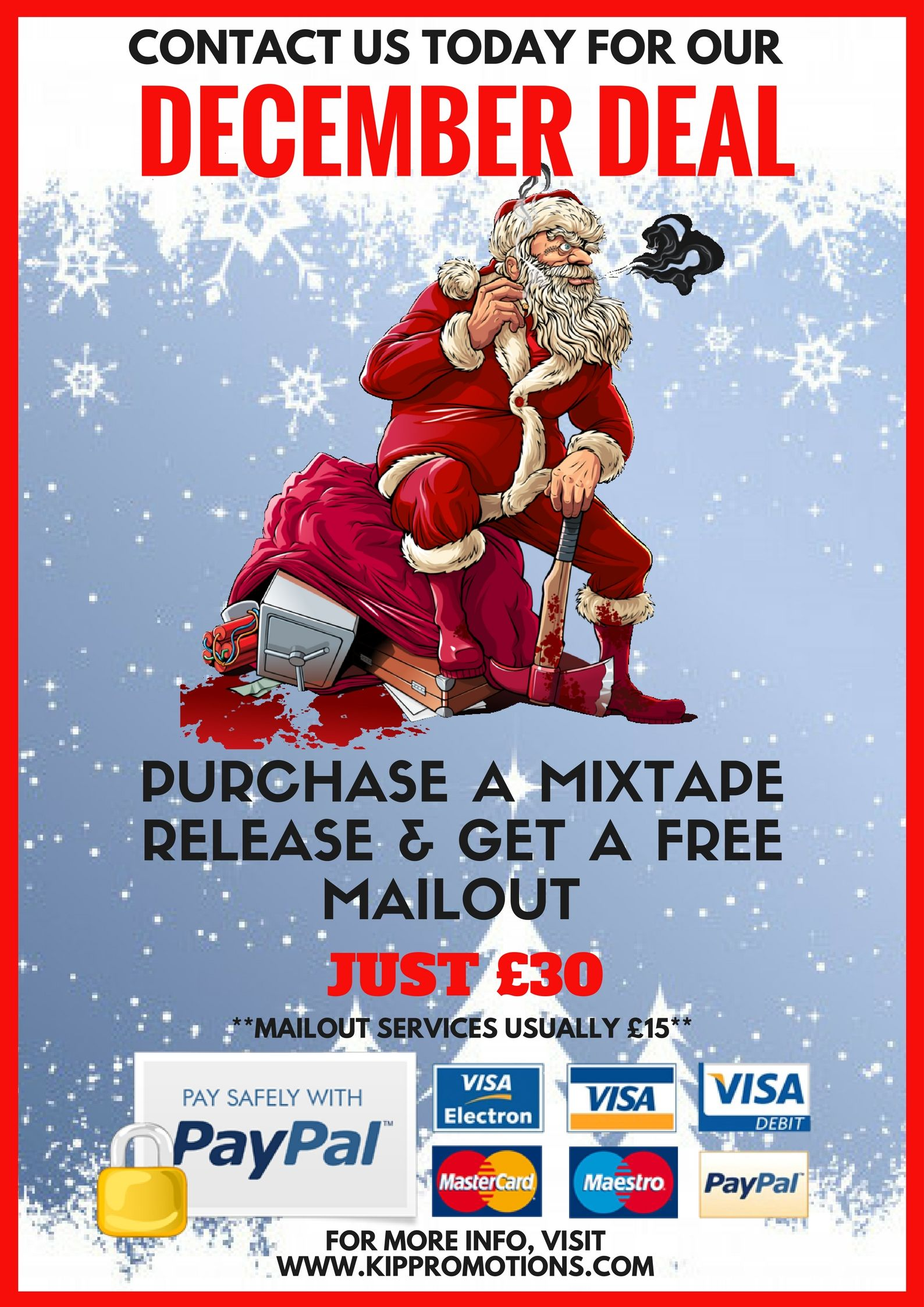 Deal Of The Month: Free Mailout With Every Mixtape Release