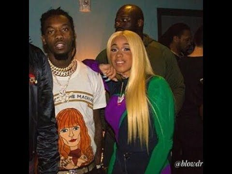 cardi b and offset finally go public with their relationship youtube