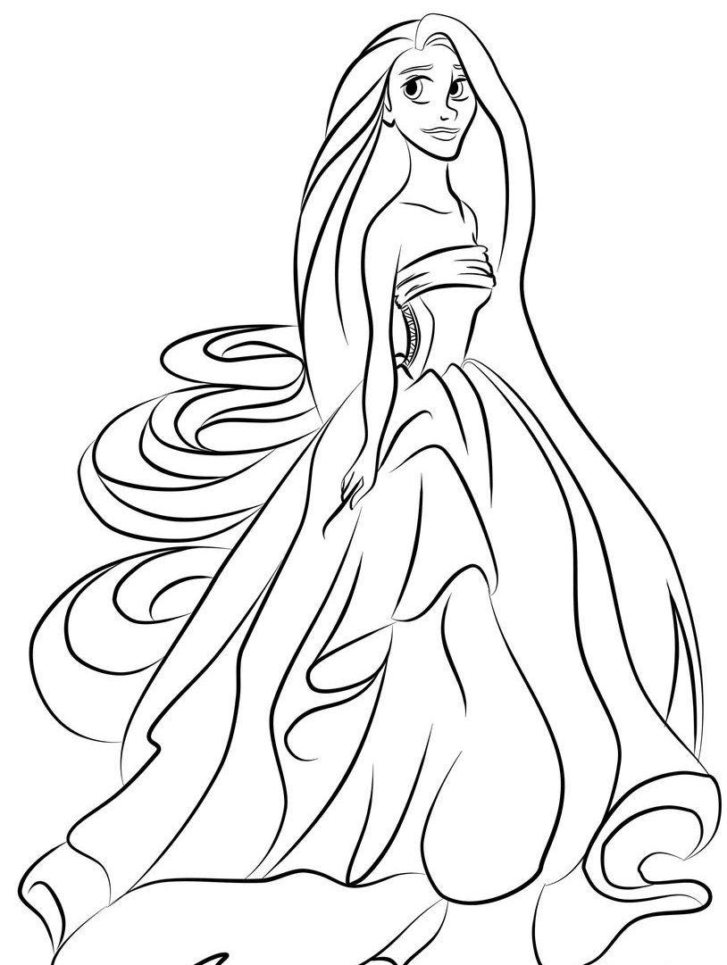 beautiful-rapunzel-coloring-pages-cartoons-coloringarena-baby ...
