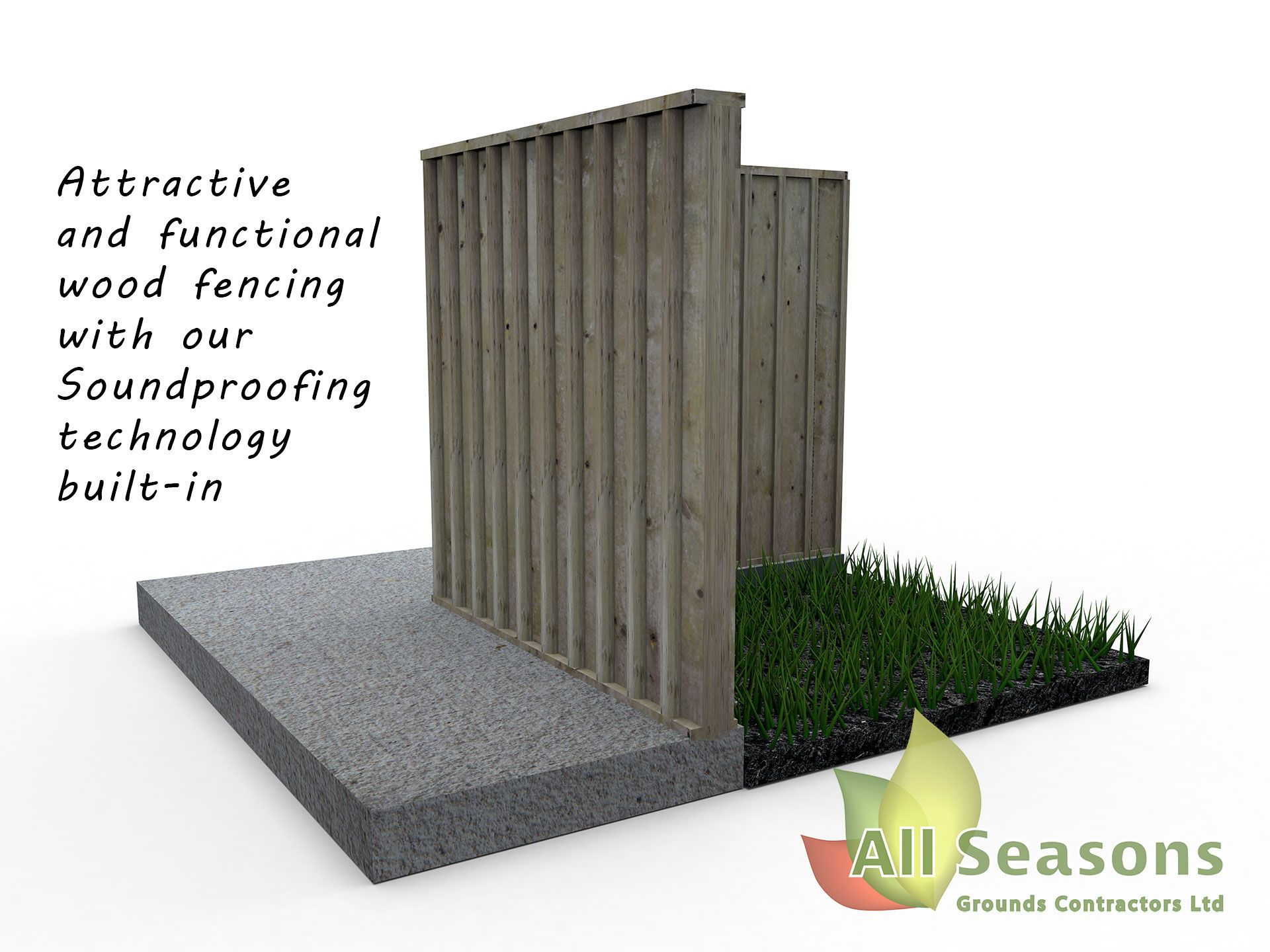All Seasons Sound Proof Fencing