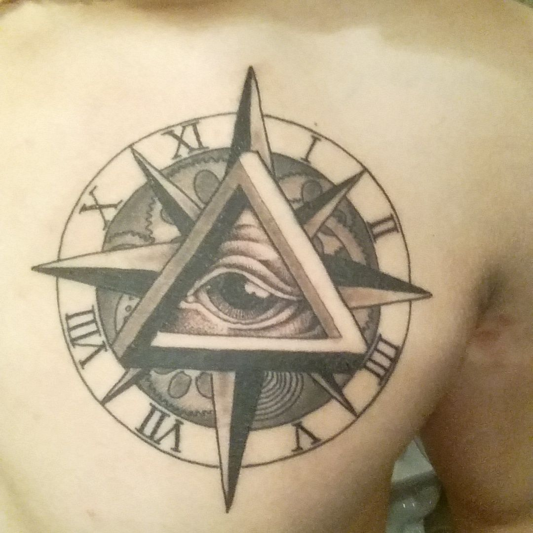 Eye of God by Dane Silverthorn at Classic Tattoo Shop in Red Deer Alberta