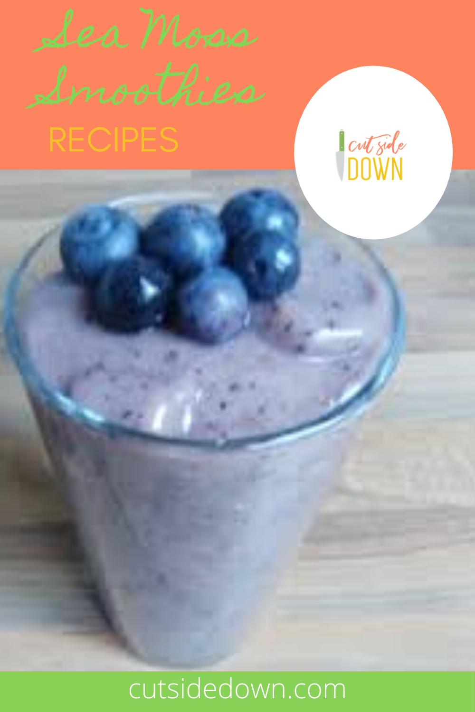Sea Moss Smoothie Recipes Smoothies Drinks Cutsidedown Com Recipe Healthy Drinks Recipes Frozen Smoothie Recipes Recipes