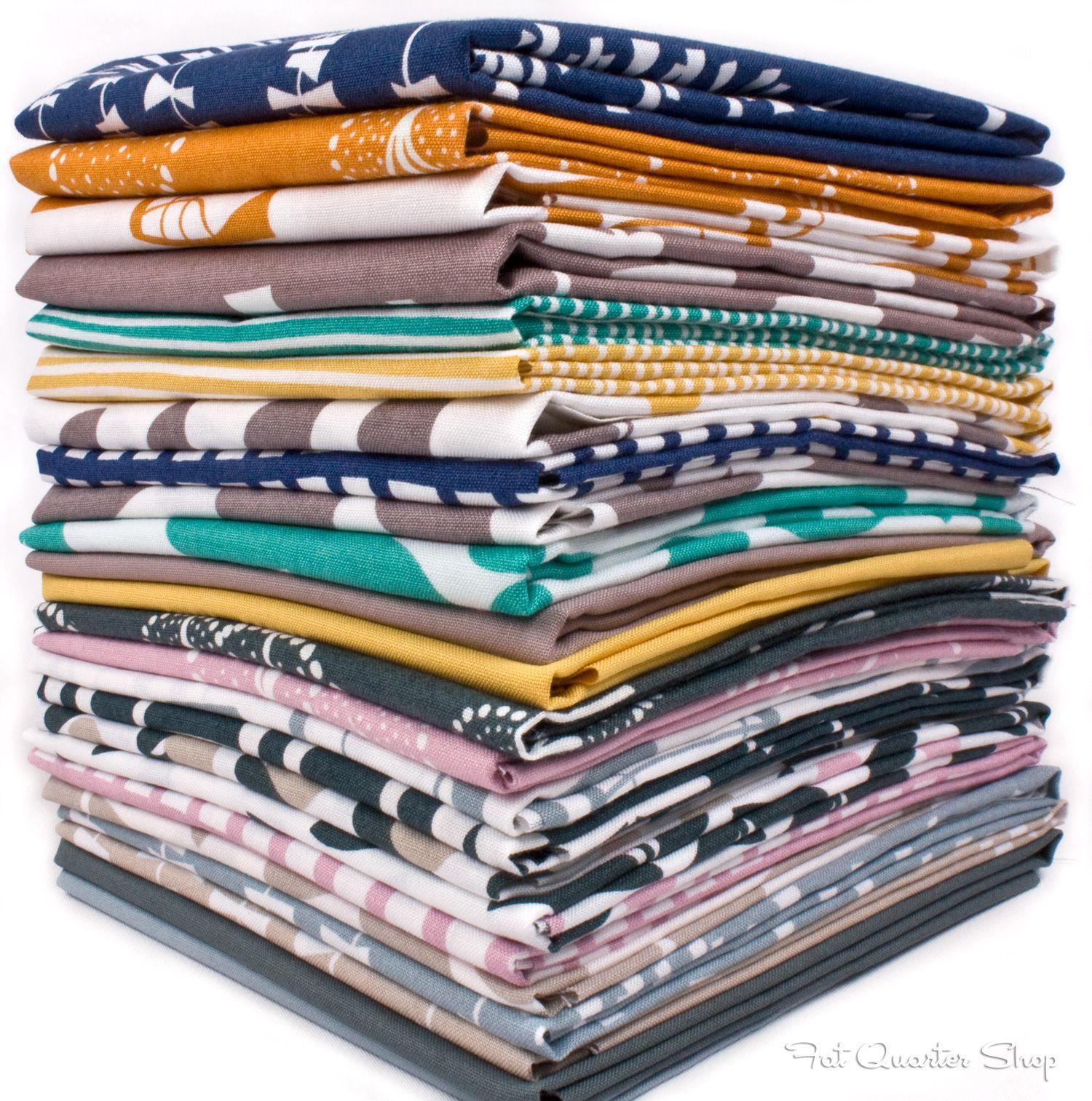 Fat Quarters of Glimma by Lotta Jansdotter for Windham Fabrics!