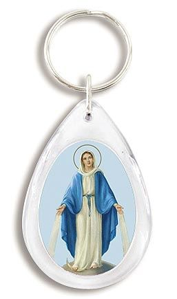 Our Lady of Grace  Devotional Key Chain