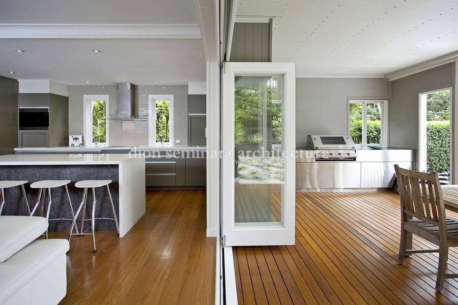 Hawthorne Queenslander Renovation With Images Outdoor Kitchen Design Indoor Outdoor Kitchen Home Renovation
