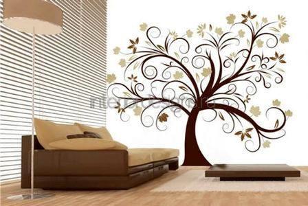 Декор стен рисунок своими руками 526