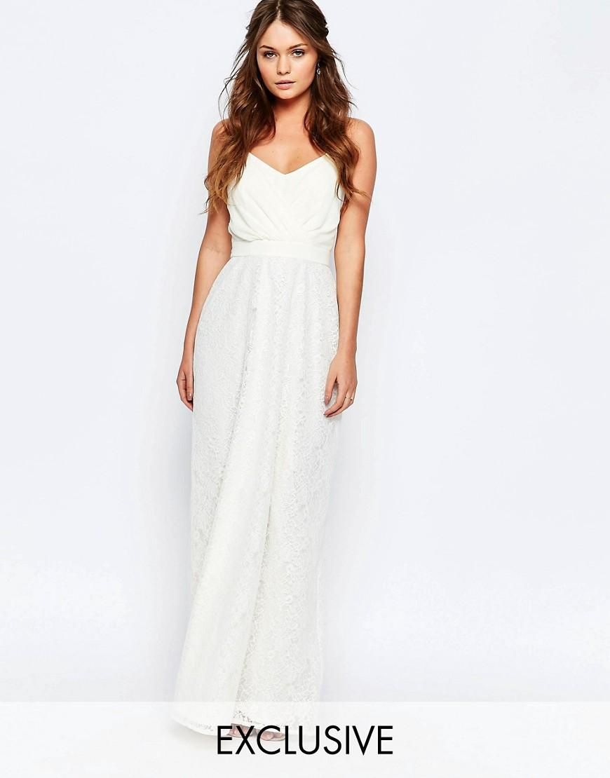 Elise ryan elise ryan maxi dress with lace skirt at asos elise ryan elise ryan maxi dress with lace skirt at asos alternative ombrellifo Image collections