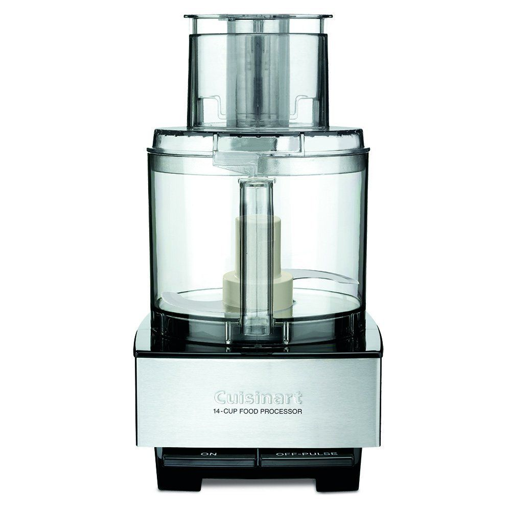 Cuisinart DFP-14BCNY 14-Cup Food Processor, Brushed Stainless Steel ...