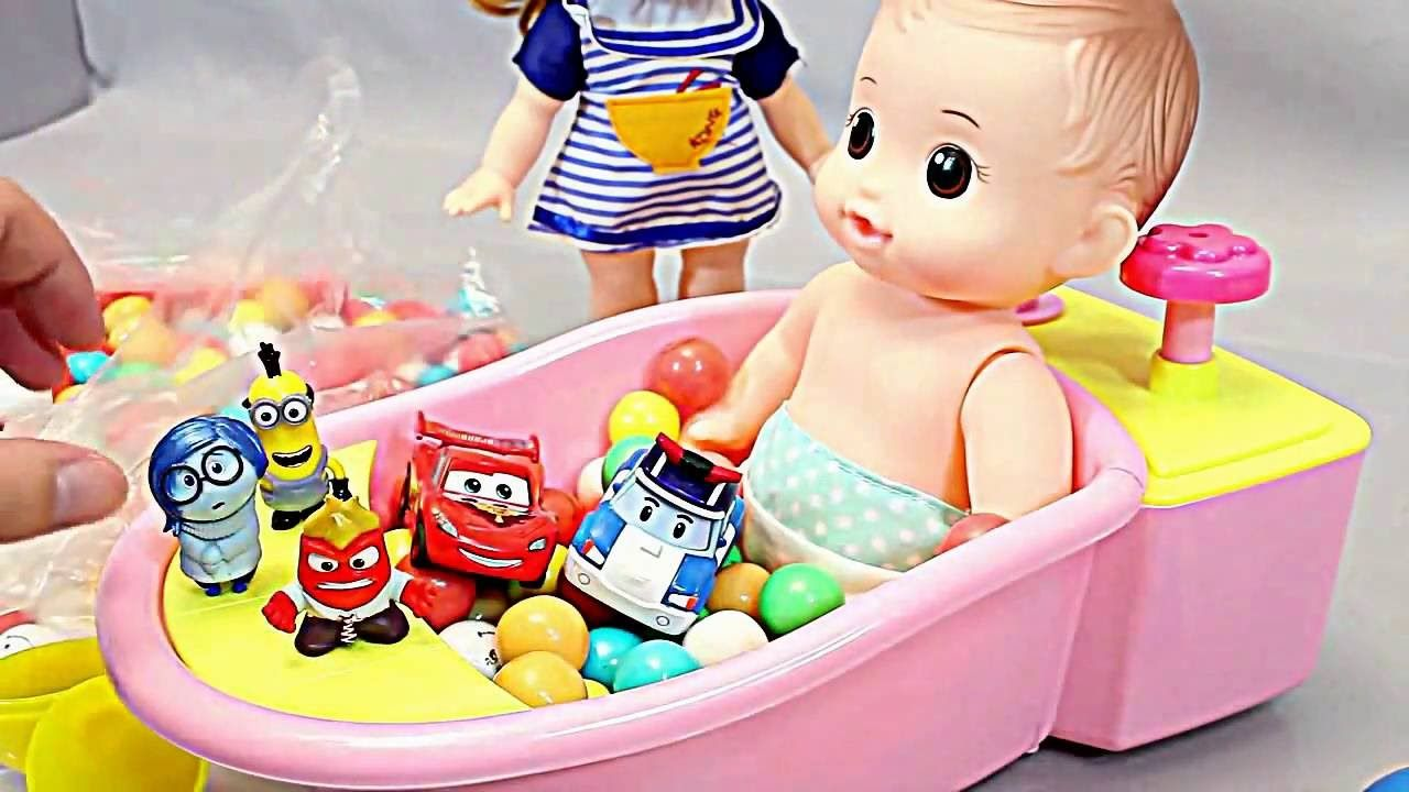 learn colors with baby doll baby cooking toys kids cooking toys food