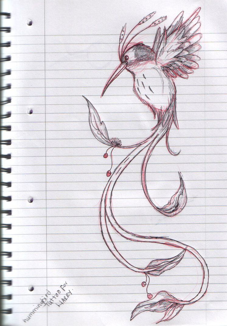 Love the long tail, personalize it with some colour and flowers and I've got a base