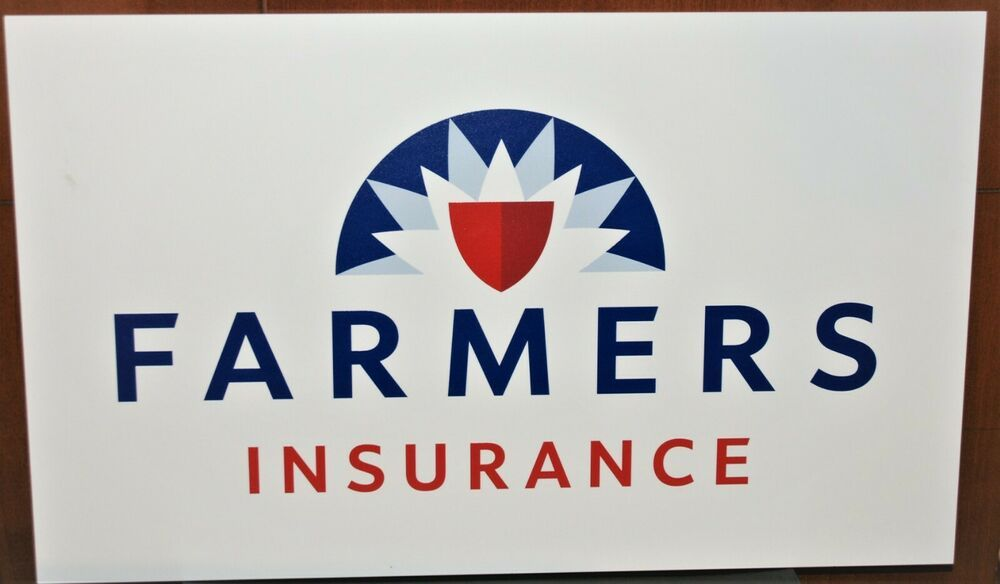 Farmers Insurance Office Sign Compliant W Specs 25 X 15