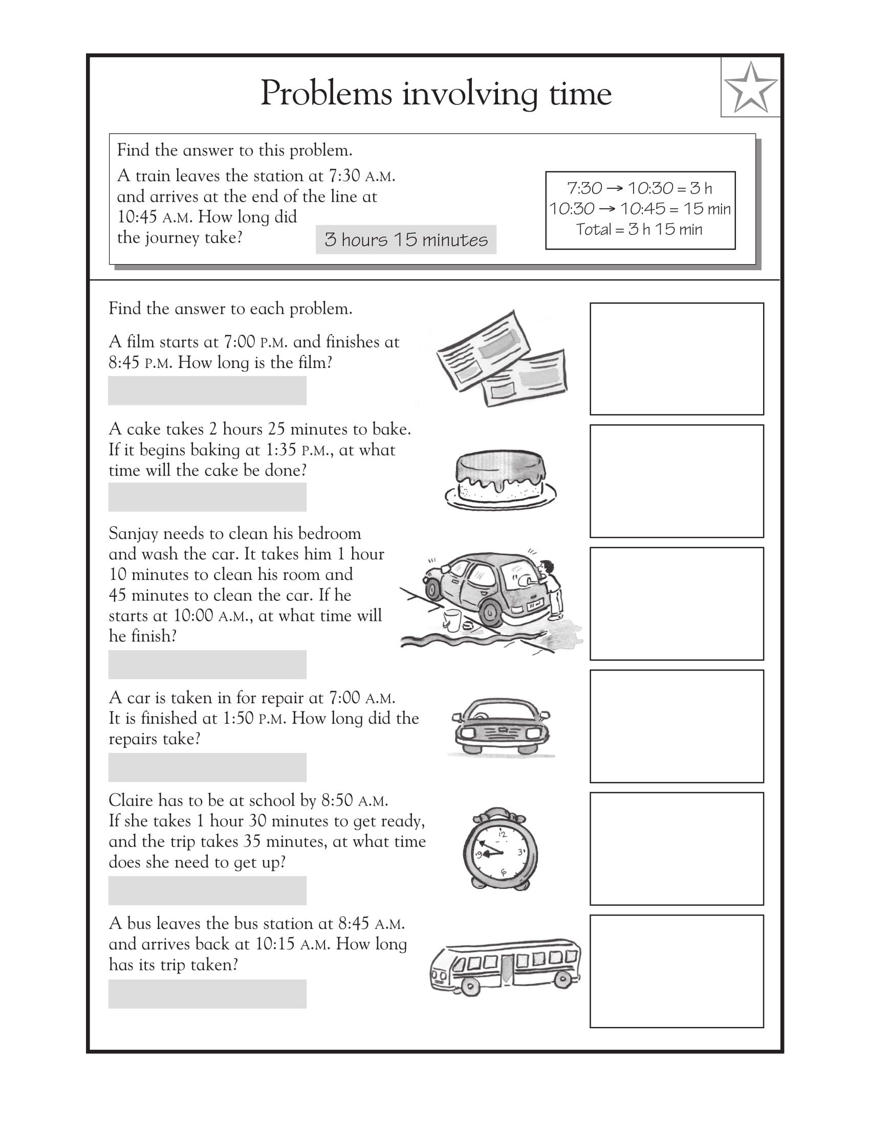 3rd Grade Math Word Problems Best Coloring Pages For Kids In 2020 Problem Solving Worksheet Life Skills Lessons Math Word Problems