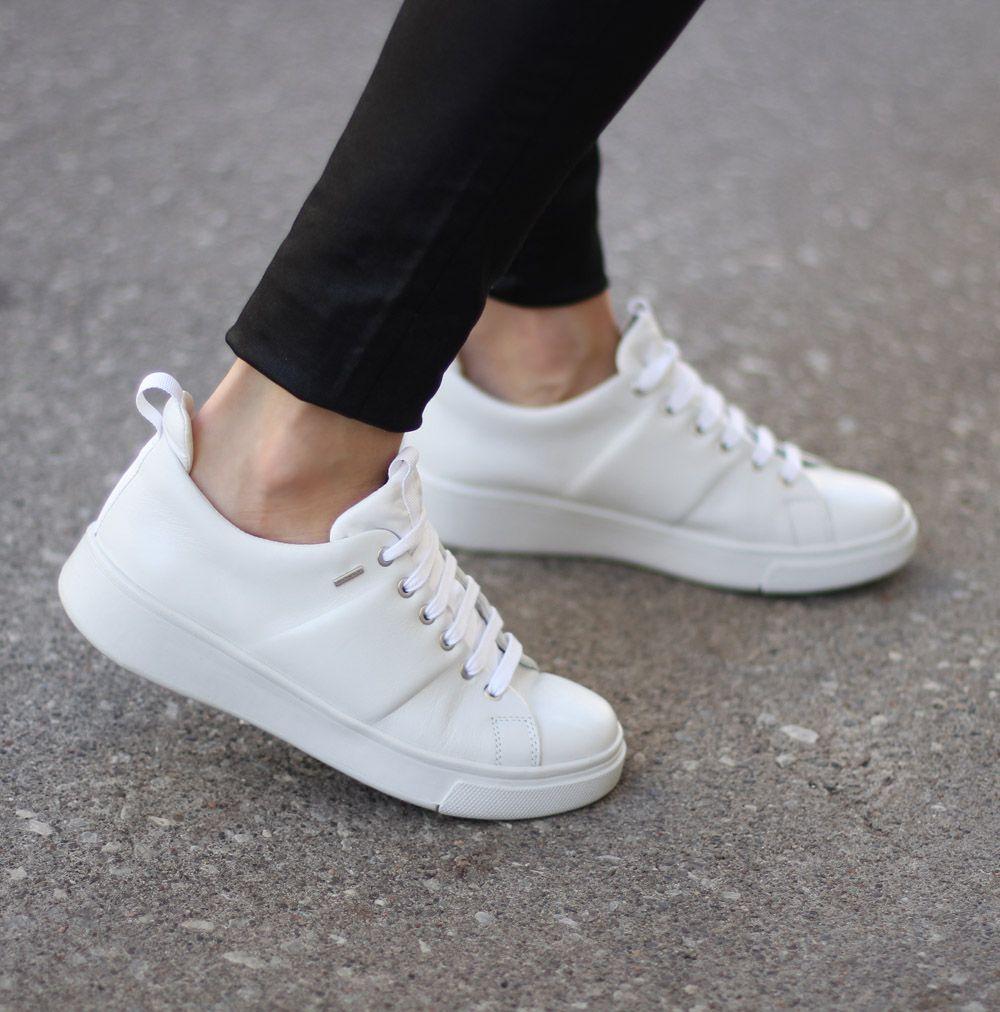 Waterproof White Sneakers Geox Amphibiox