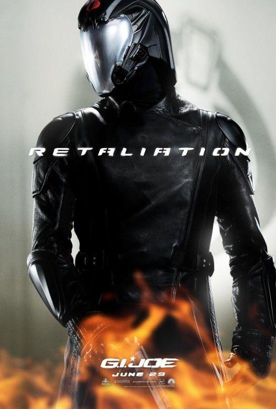 Exclusive G I Joe Retaliation Cobra Commander Character