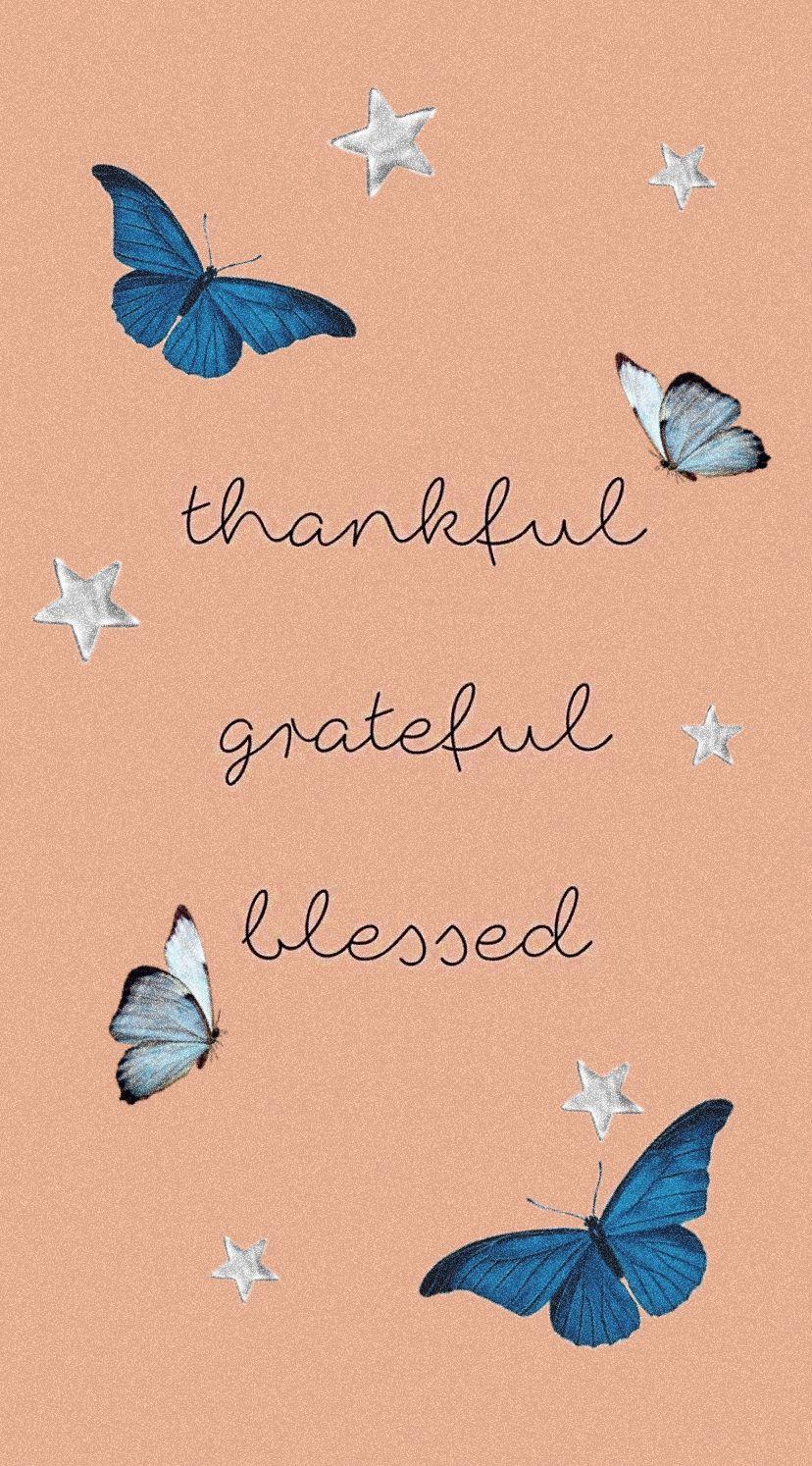 Christian vsco faith wallpaper iPhone blue butterflies