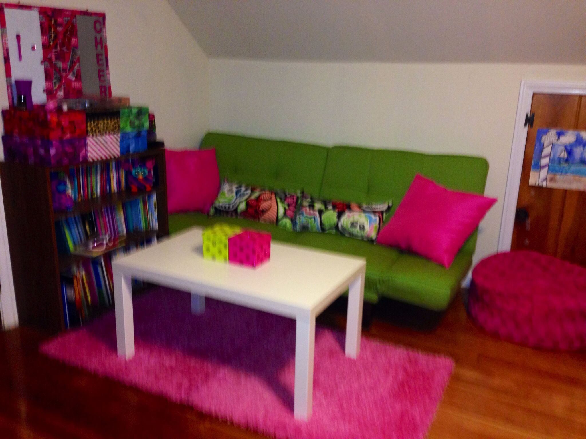 Our Perfect girls living room!