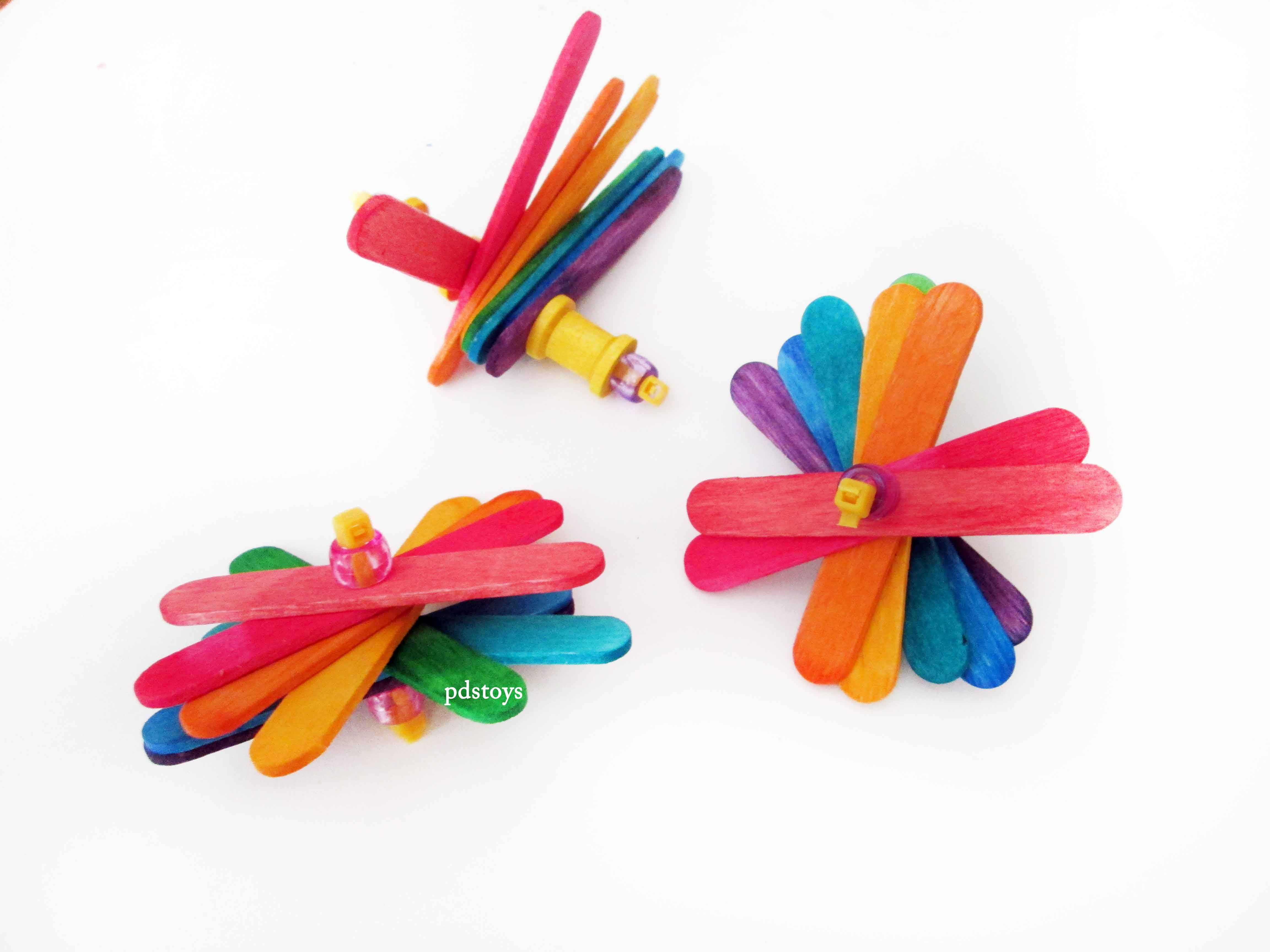 Pack of 6 Popsicle Sticks Parrot Foot Toys