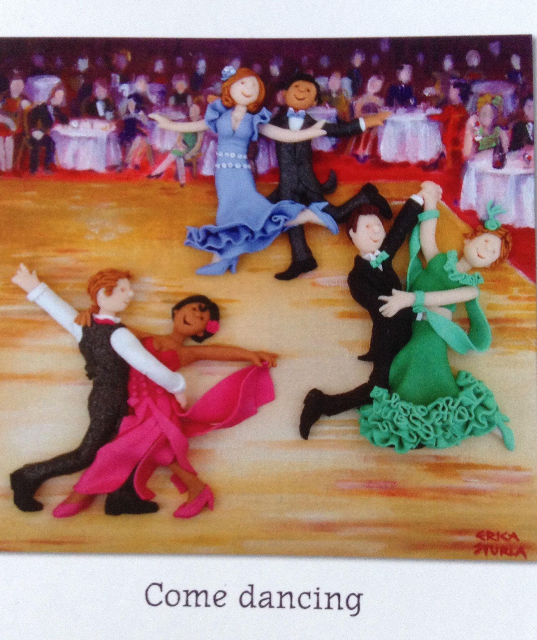 Ballroom Birthday Card Strictly Dancing Pinterest Ballrooms