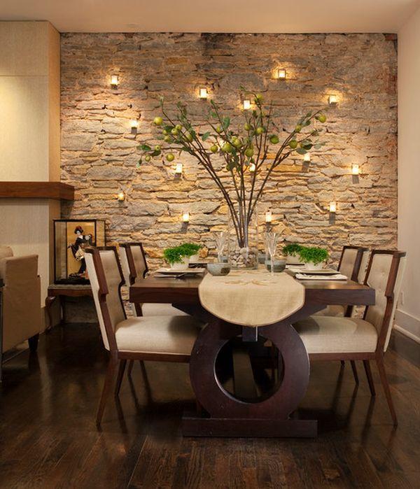 Dining Room Design Modern, Dining Room Wall Covering