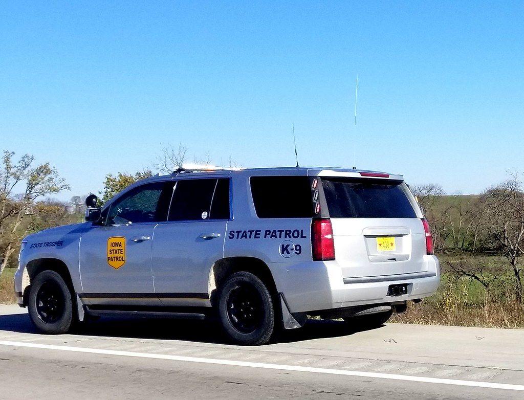 Iowa State Patrol 2017 Chevy Tahoe Iowa Dallas County Chevy Tahoe
