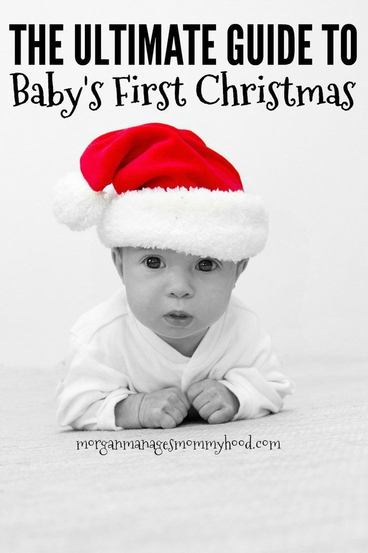 cdb232172312 She outlines what you don t want to miss for baby s first Christmas -  memories
