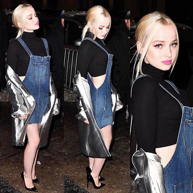 "( ☞ 2017 ) ☆ BEAUTIFUL WOMAN ☆ DOVE CAMERON IN A MINISKIRT AND HIGH HEELS. ) ☆ Chloe Celeste Hosterman - Monday, January 15, 1996 - 5' 2"" 108 lbs 33-23-33 - Seattle, Washington, USA."