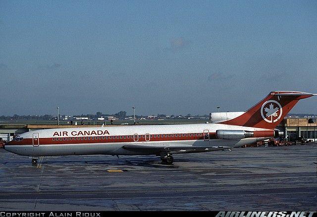 Air Canada Boeing 727 233 Adv Montreal Pierre Elliott Trudeau
