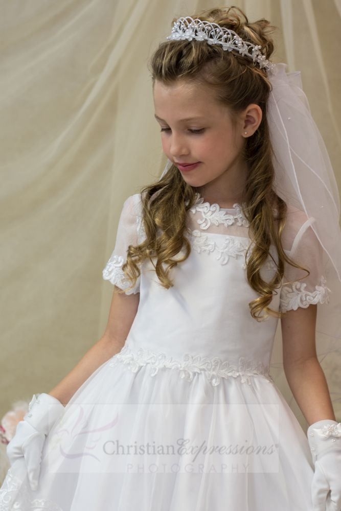 9fac26d875c Christian Expressions stocks a variety of first communion veils including  headbands