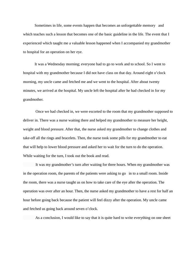 my school days essay an unforgettable memory of my school days essay