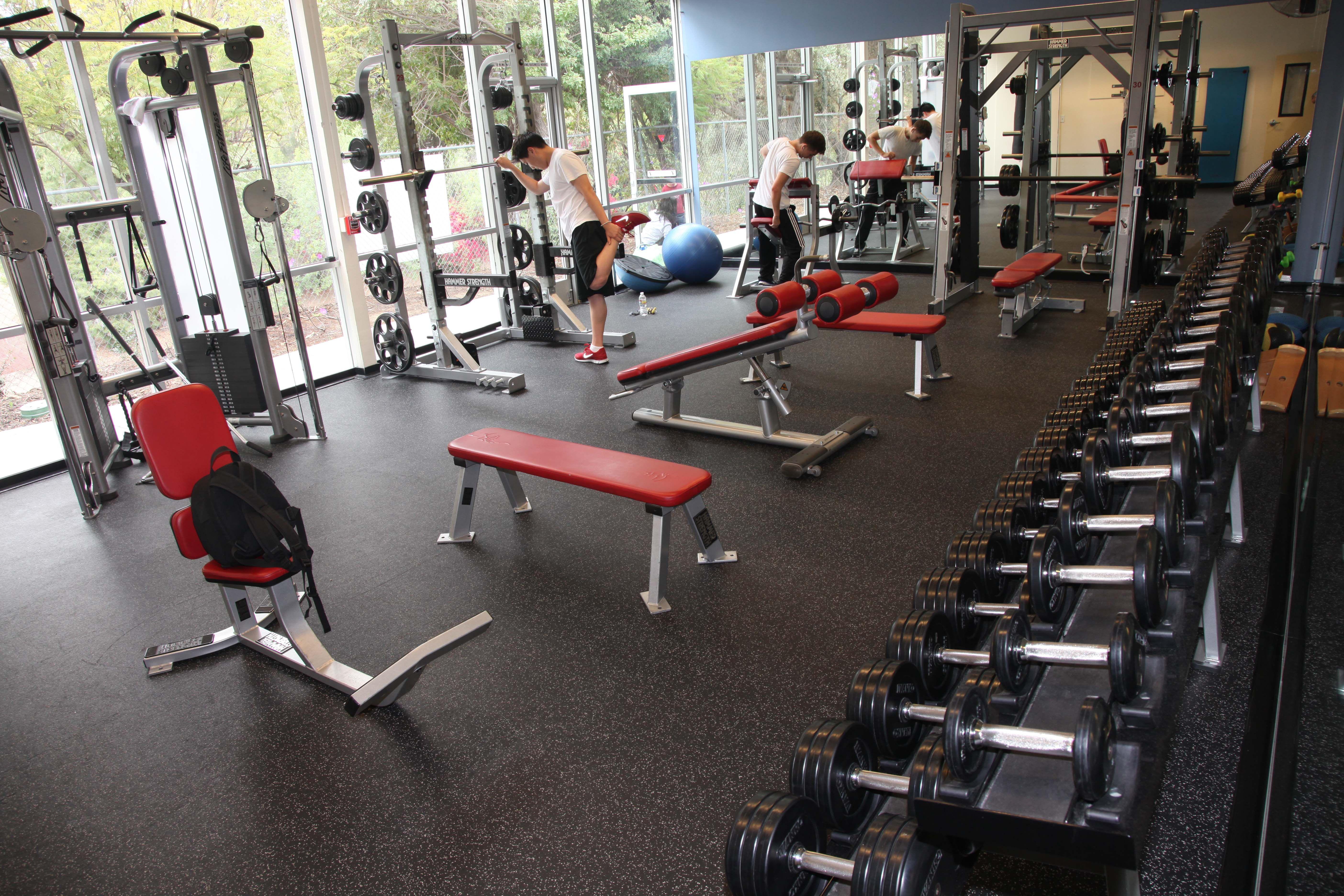 The fullerton family ymca weight room ymcaoc ymcaocfn