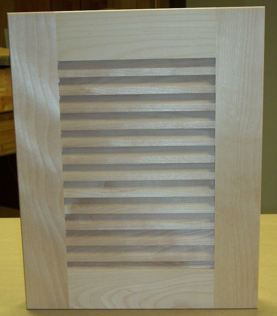 Beau Louvered Cabinet Doors