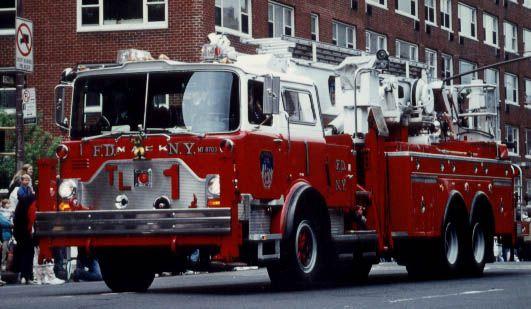 fdny tower ladder 1 mack cf model arielscope fire dept fire