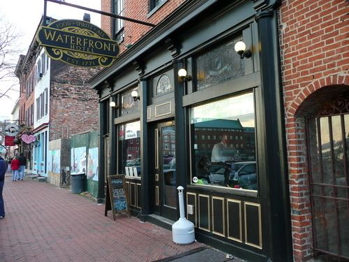 The Waterfront Hotel Curly Second Oldest Continuously Operating Pub Restaurant In Baltimore
