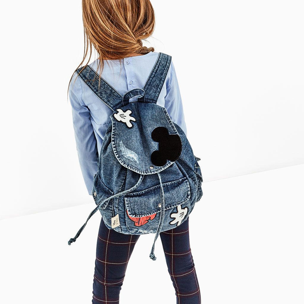 1dbe1748de0 MICKEY MOUSE DENIM BACKPACK-BAGS AND BACKPACKS-GIRL